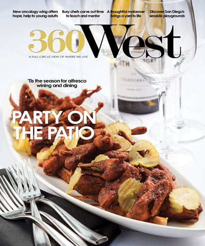 June 2016 360 West Magazine Cover