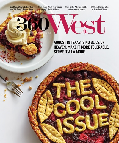 360 West Magazine August 2016 Cover